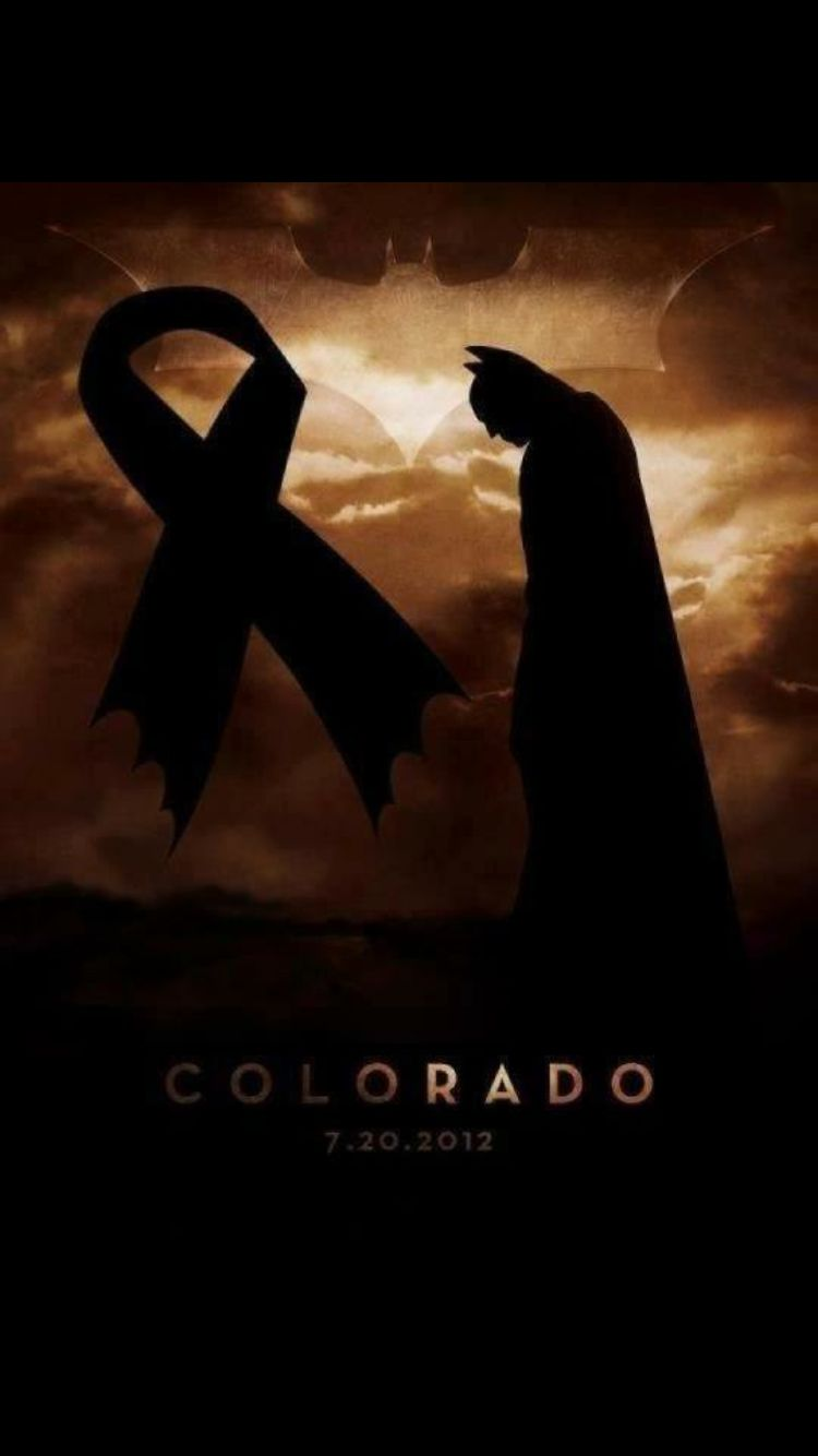 Still praying for the Aurora shooting victims and their families.