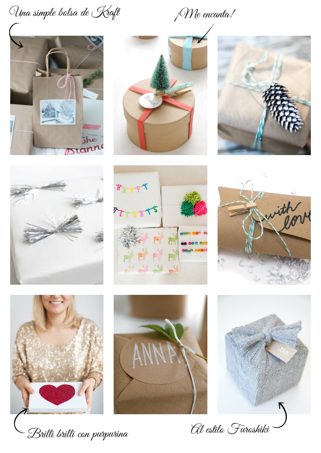 Envolver regalos low cost original via miblog la - Envoltorios regalos originales ...