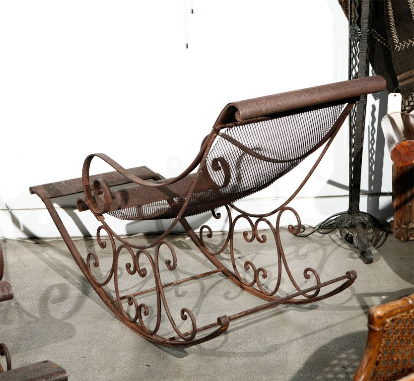 Pin By Tina On Do It Yourself Rocking Chair Chair Wrought Iron