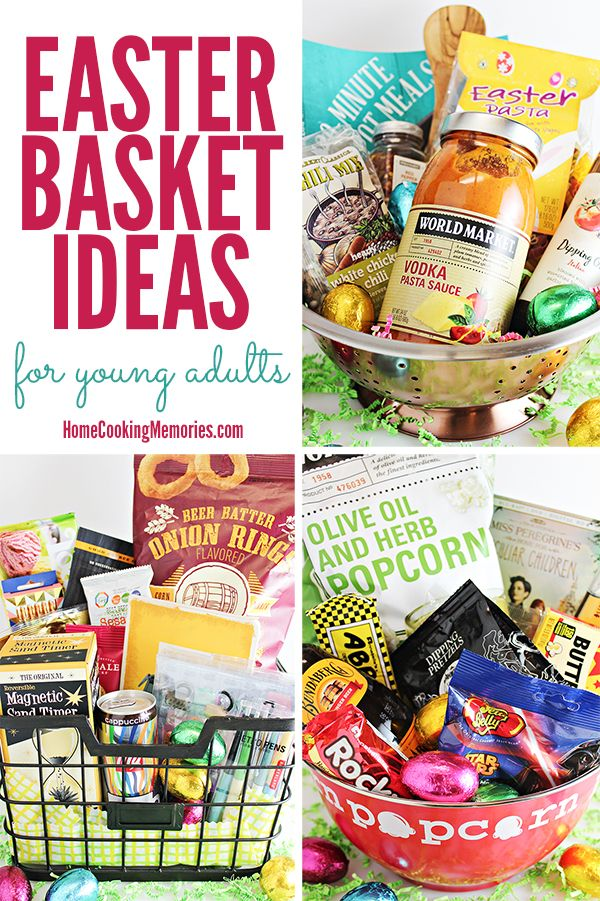 3 easter basket ideas for young adults or older teens basket tips and inspiration for easter basket ideas for young adults or older teens including baskets for negle Choice Image