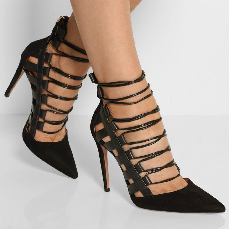Exquisite Black Heels Collection 2015