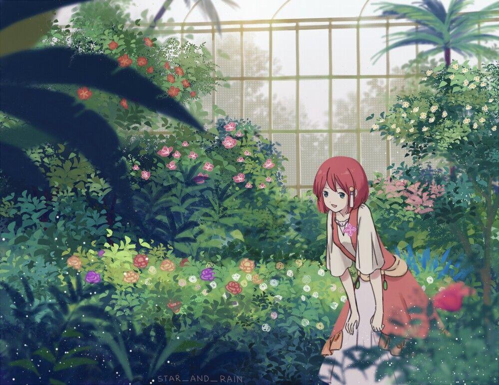 Shirayuki Snow White With The Red Hair Romantic Anime Art Prints