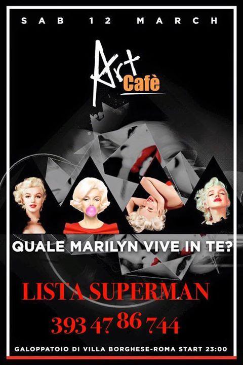 ART CAFE  SABATO 12 MARZO 2016 #LISTASUPERMAN 3934786744 - http://ift.tt/1HQJd81