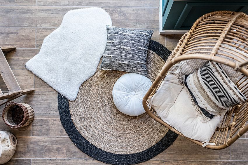 8 stylish ways you can use carpet remnants in your home in