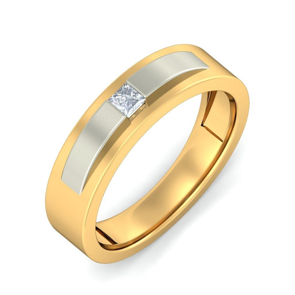 The Confident Male Ring #Gold #Alluring #BlueStone #Jewellery ...