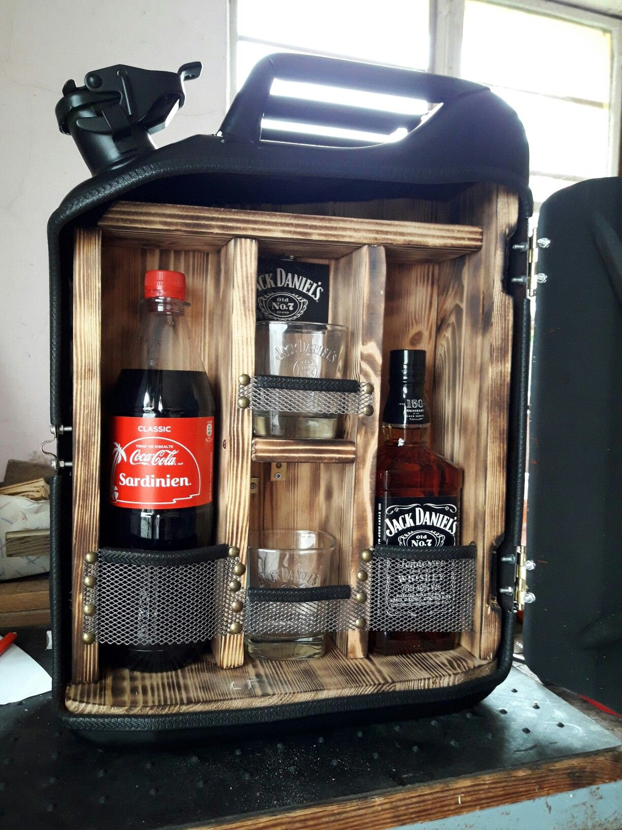 Pin By Innus Liebenberg On Man Cave Jerry Can Mini Bar