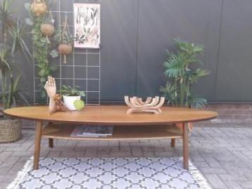 10x Ronde Salontafel : Retro salontafel stockholm ovaal ikea design ovale tafel