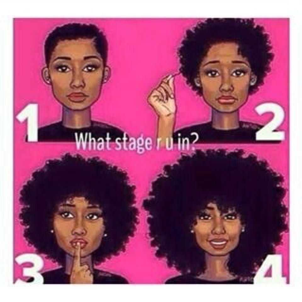 Where are you with your natural hair journey? #teamnatural #naturallyyou #naturalbeauty #NaturallySILK2