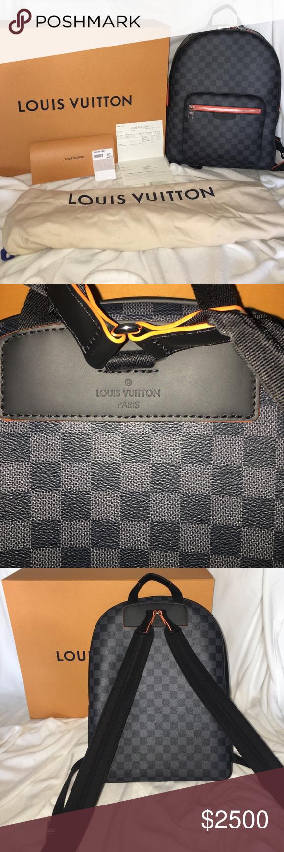521d14f9d953 NIB! Rare Louis Vuitton Josh Damier Graphite COMET NEVER USED! 100%  Authentic.