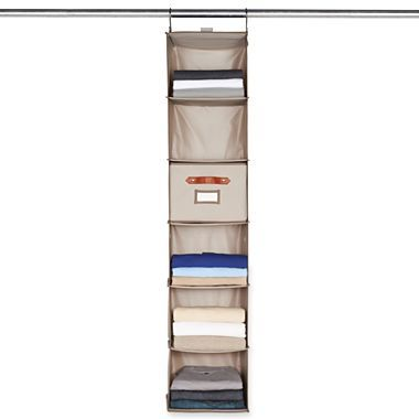 Beau Michael Graves Design Hanging 6 Shelf Closet Organizer   Jcpenney