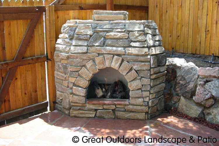 Denver Colorado Landscaping Outdoor Fireplaces Grills