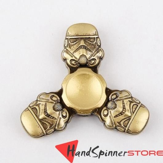 Star War Storm Trooper Metal Tri Spinner Fid Spinner