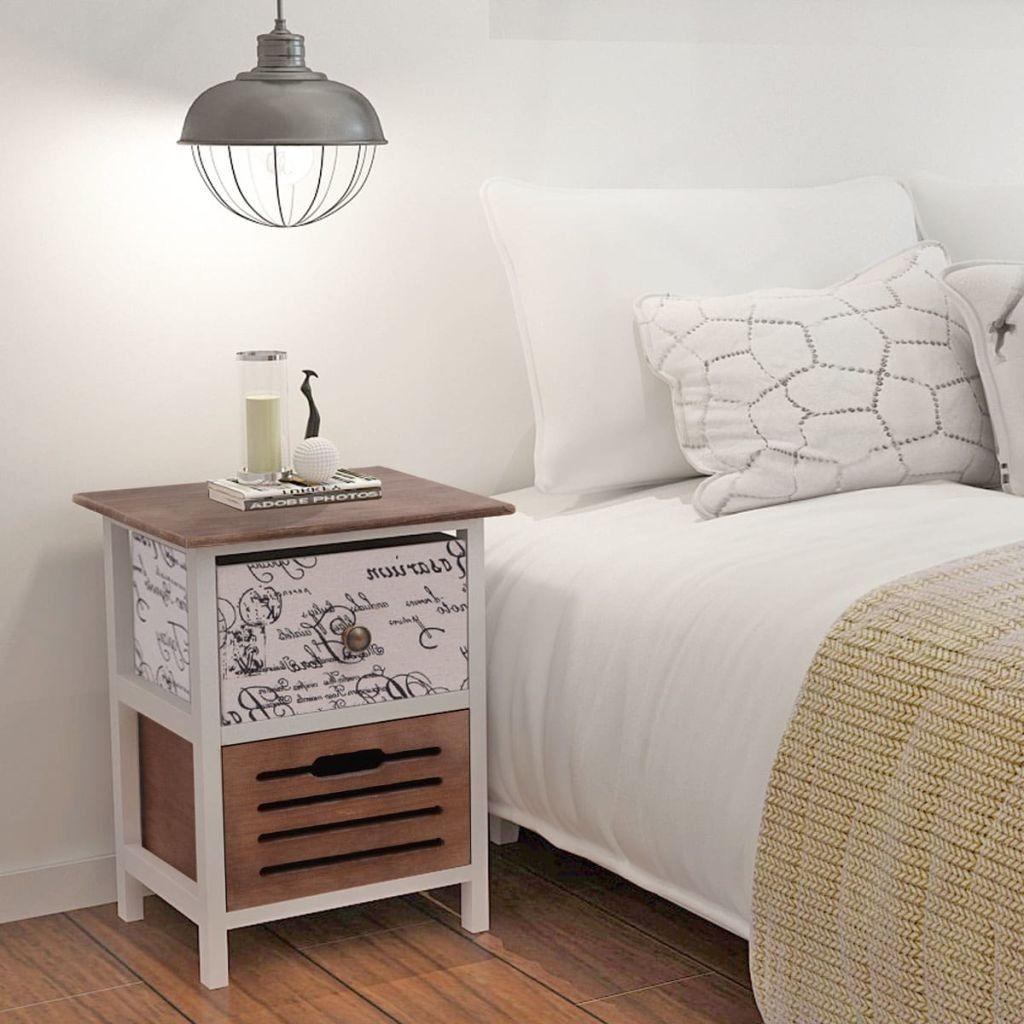 Photo of Nattbord i Tre , Dette nattbordet i en landlig stil vil legge til en touch med r…