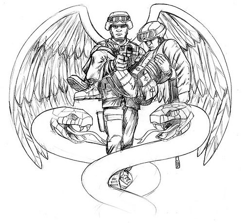 Like this one   Corpsmen & Medics   Pinterest   Military, Tattoo and Tatting