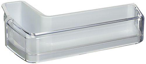 Samsung OEM Original Part: DA97-11478A Refrigerator Middle Door Shelf Bin w/Guard Assembly Left - http://appliances.wegetmore.com/samsung-oem-original-part-da97-11478a-refrigerator-middle-door-shelf-bin-wguard-assembly-left/