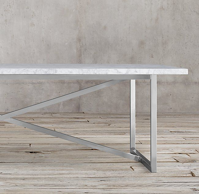 Torano Marble Rectangular Dining Table Kitchen Table Pinterest - White marble rectangular dining table