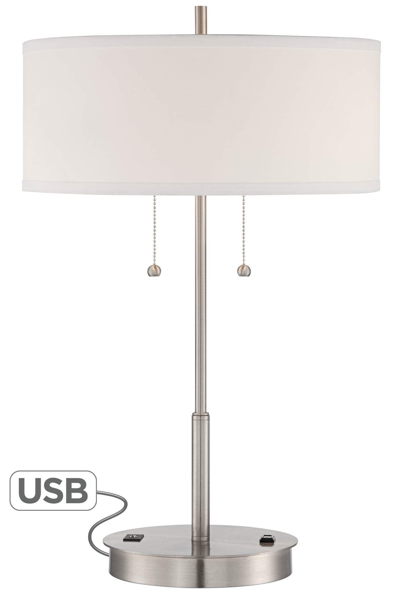 end table lamps with usb ports bruin blog. Black Bedroom Furniture Sets. Home Design Ideas