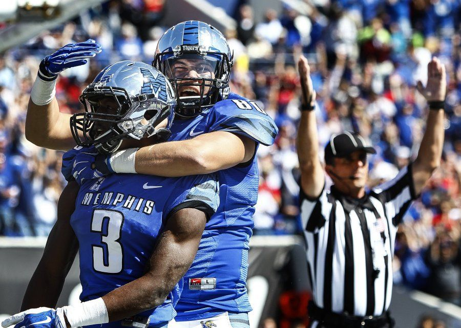 Memphis surges to highest AP football ranking in school