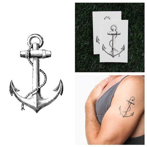 Submerged  Temporary Tattoo Set of 2 | Etsy