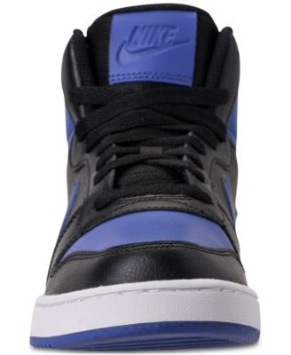 detailed look a5ee6 90392 Nike Men s Ebernon Mid Casual Sneakers from Finish Line - Black 11.5