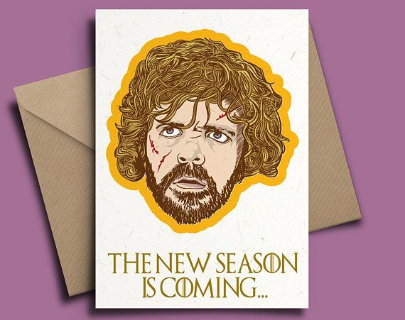 Funny Valentines Card Game Of Thrones Tyrion Personalised