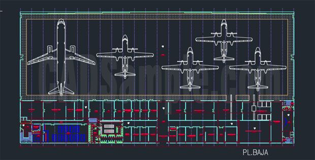 Airport Architectural Drawings FREE DWG ; airport architectural - new world map cad free