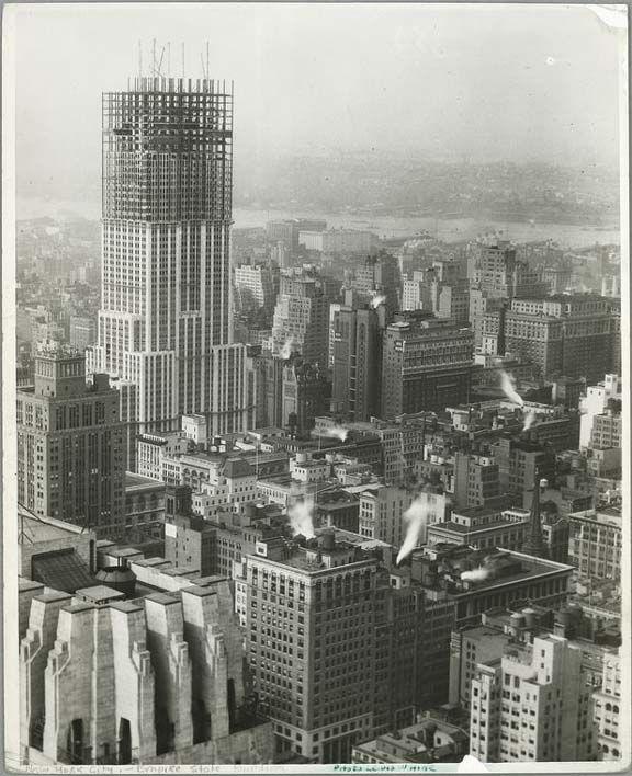 New York Architecture Images Manhattan Institute Empire State Building Empire State Historische Fotos