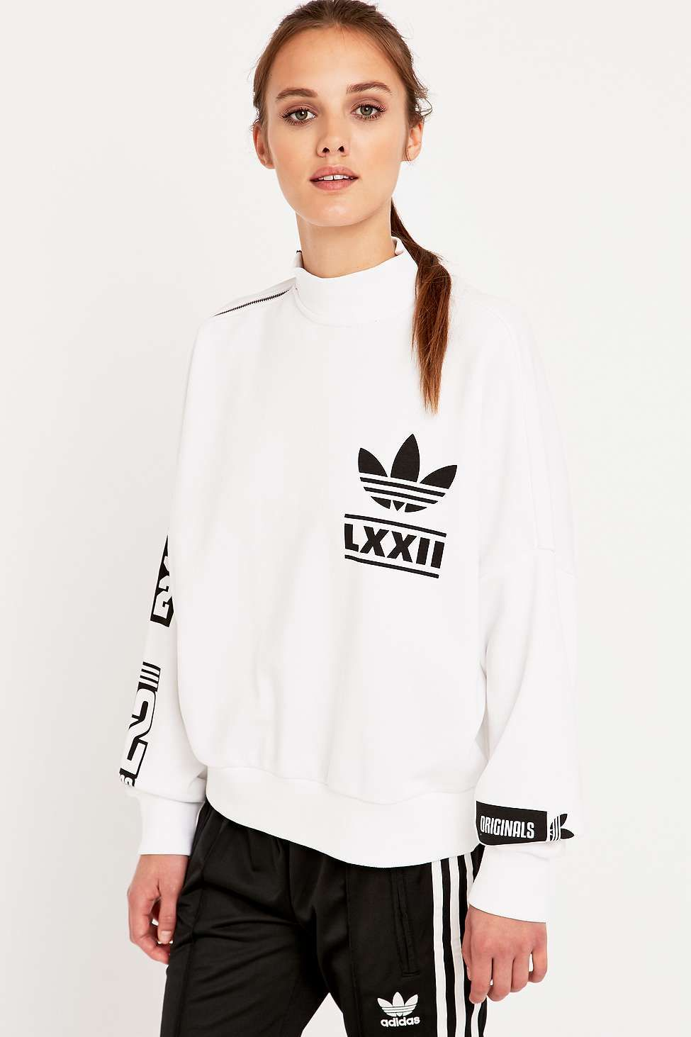 adidas Berlin White Logo Sweatshirt   Fashion   Adidas, Sweatshirts ... 2146824649ce