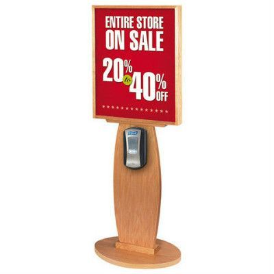 Wood Purell Hand Sanitizer Stand 22 X28 Hand Sanitizer
