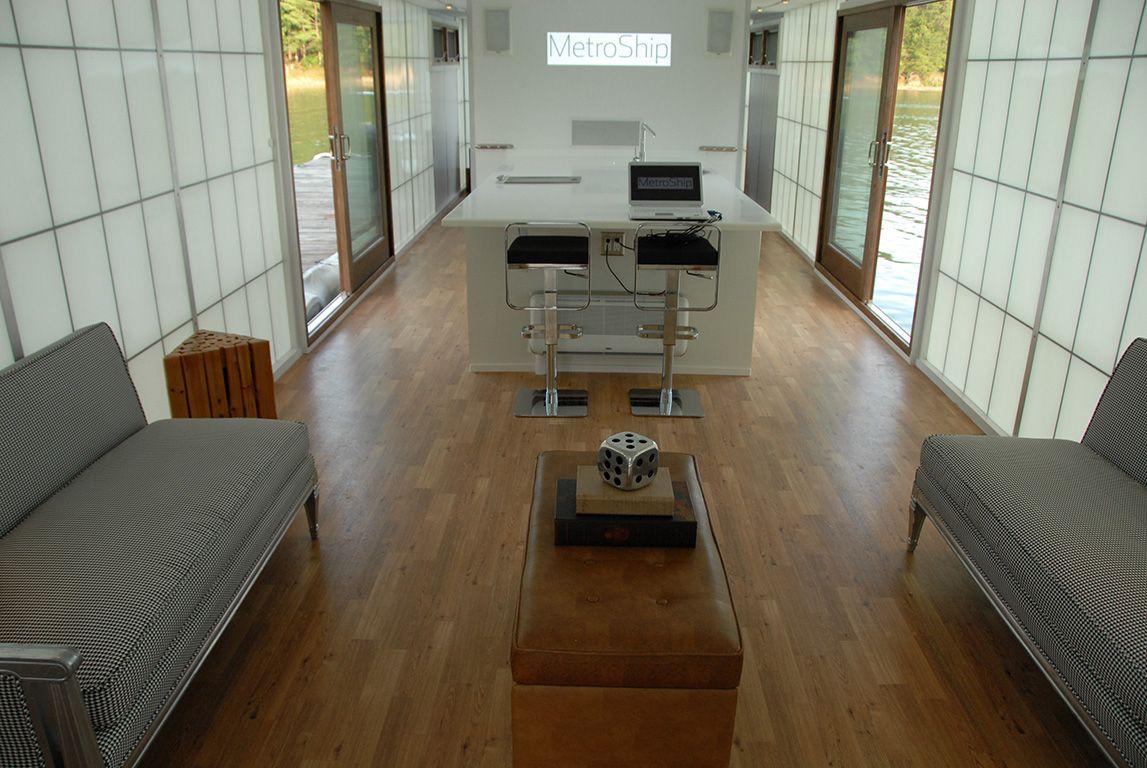 Metroship houseboat interior image 0090 jpg 1147x768 small houseboats