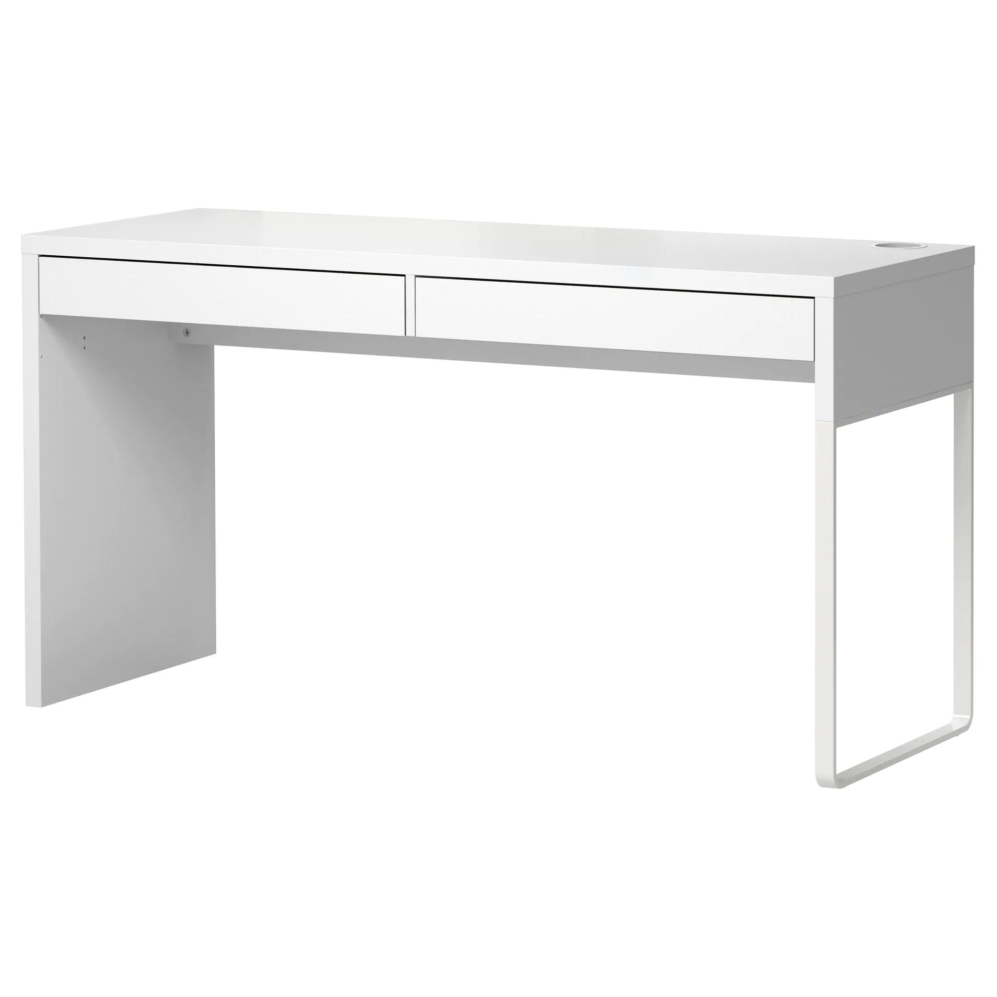 Micke Desk White 55 7 8x19 5 8 Ikea White Desk Office Micke Desk Ikea Desk