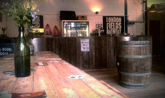 London Fields Brewery Tap Room Tap room, Room london