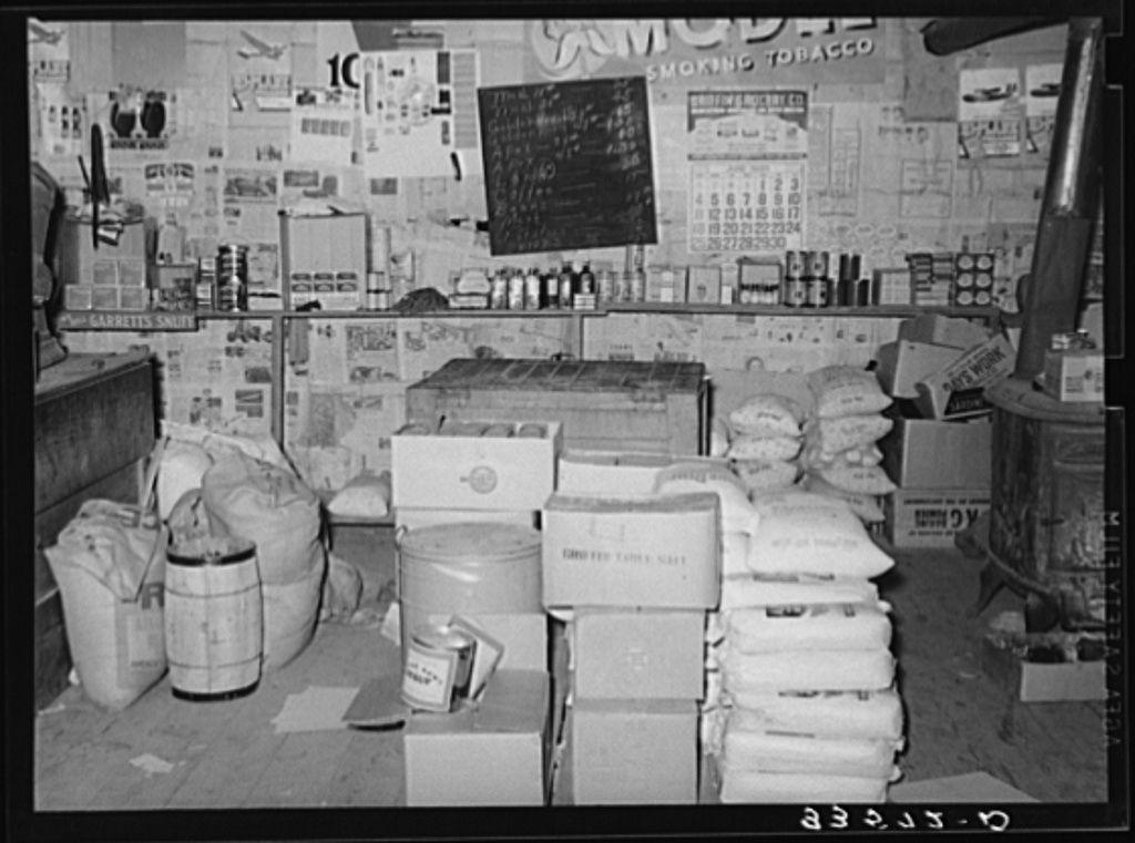 Country store. Wagoner County, Oklahoma 1939 Photo wall