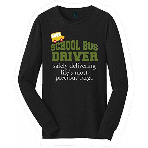 School Bus driver Long Sleeved shirt   Great School Bus d... https://www.amazon.com/dp/B076HW6MNS/ref=cm_sw_r_pi_dp_U_x_GhQuAbTJCA4BD