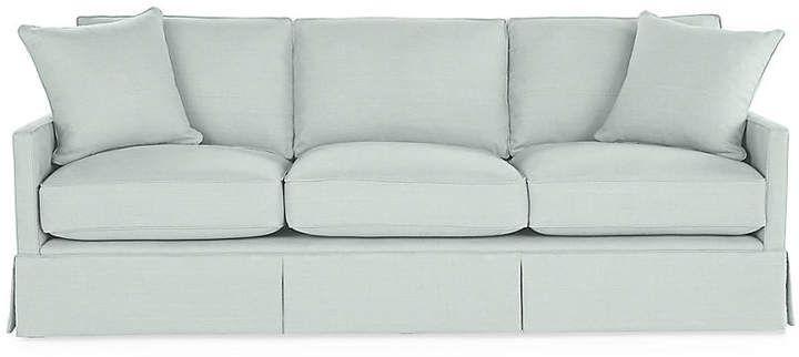 Auburn Sofa Seafoam Linen Miles Talbott Sofa Linen Sofa