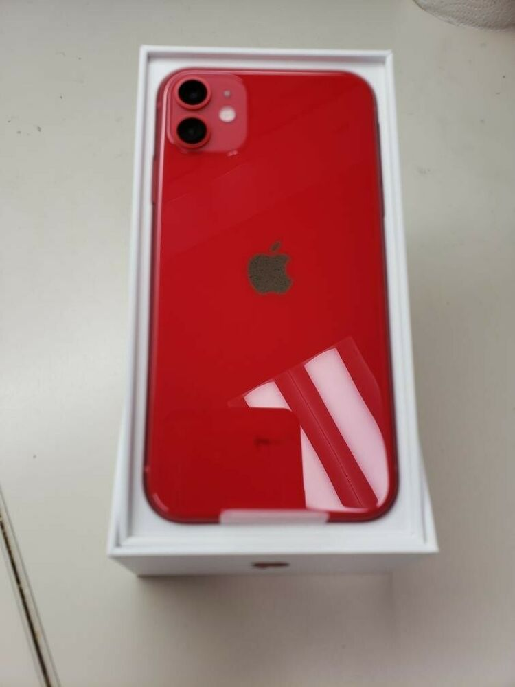 Apple Iphone 11 Product Red 64gb At T A2111 Cdma Gsm New