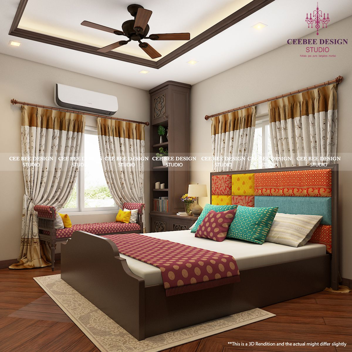 3d Design Of A Bed Room Using Duco With Images Interior