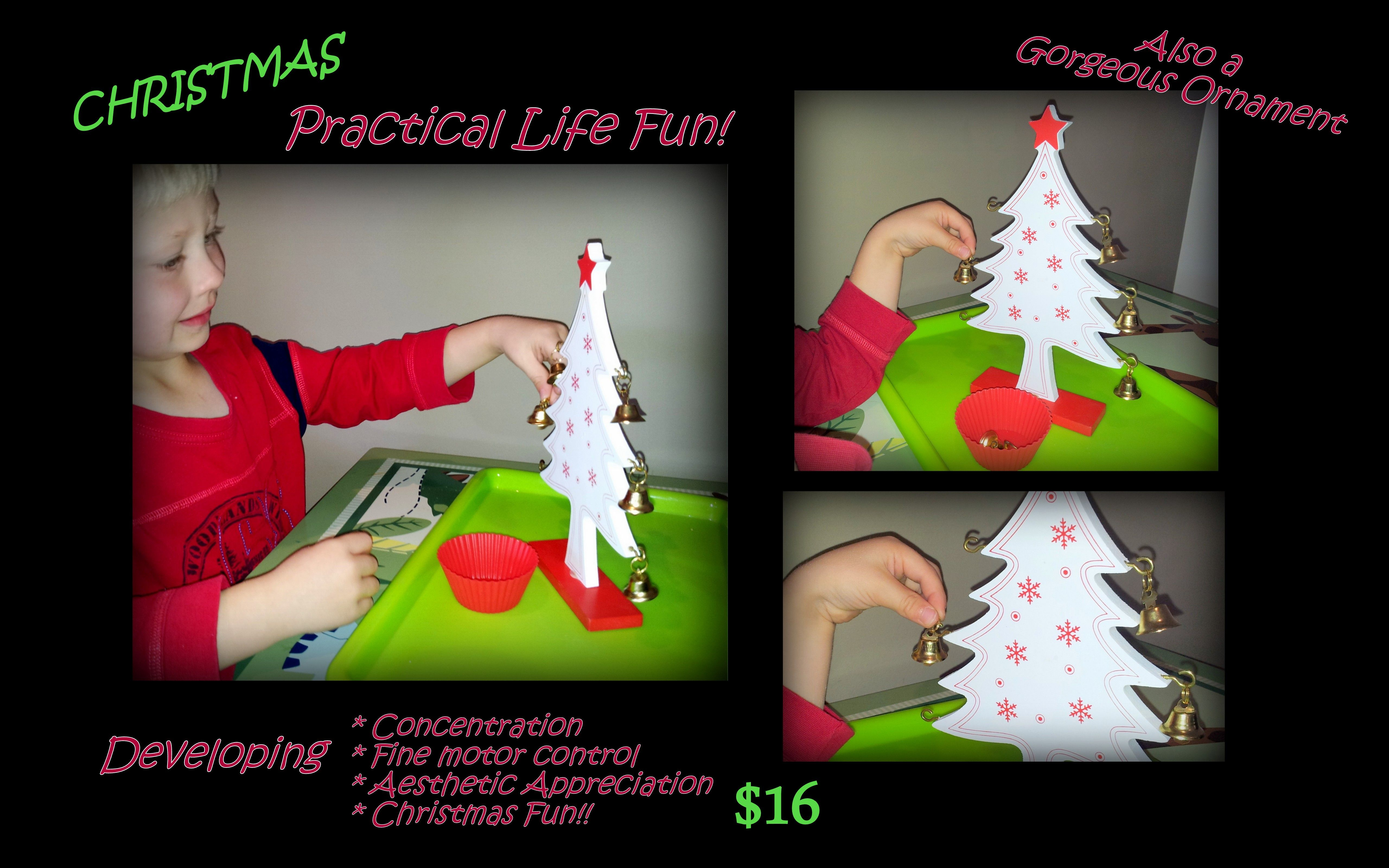 Christmas Practical Life Activity