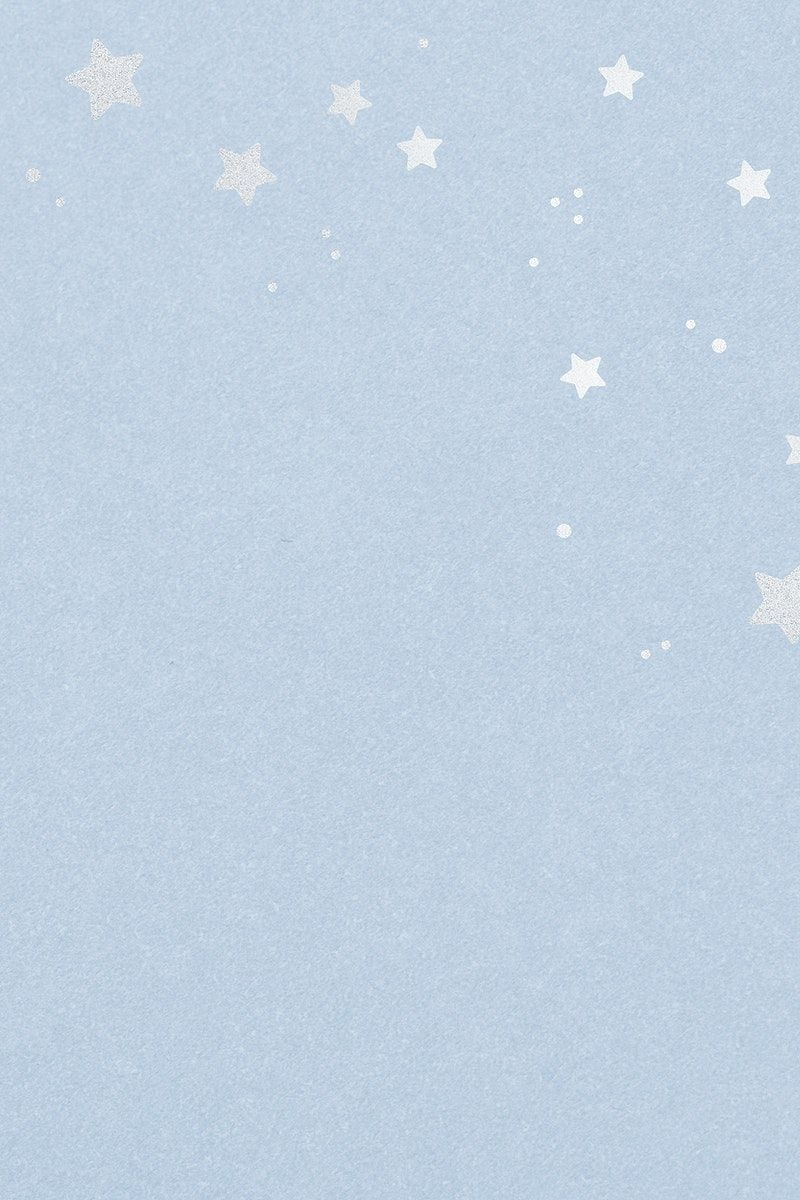 Light Blue Background With Silver Stars Pattern Free Image By Rawpixel Com Ningzk V Blue Background Wallpapers Light Blue Aesthetic Blue Wallpaper Iphone