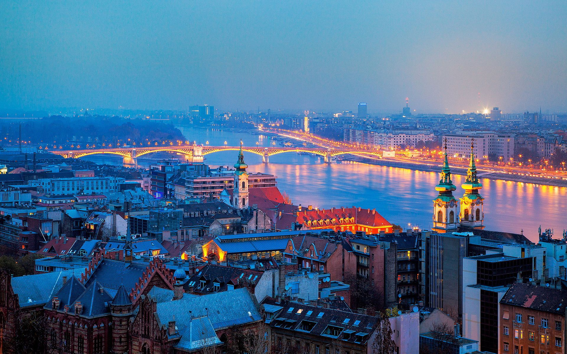 Hungary's scenery is more gentle than striking, more