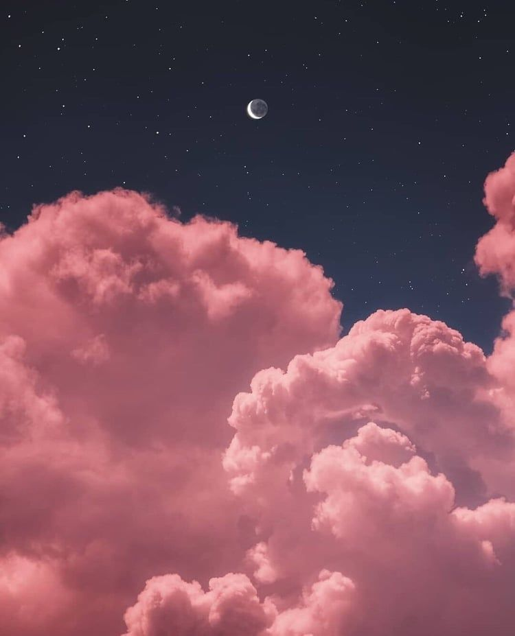 #skygazing #sky #night #amber #clouds Https://weheartit