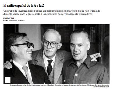 El exilio español de la A a la Z / @el_pais | #mellamo #nosólotécnicaBUPM