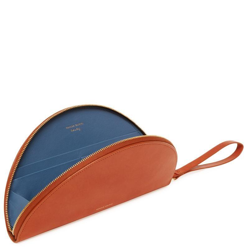 Moon Leather Wallet - Tan Mansur Gavriel wWPAnEYL1