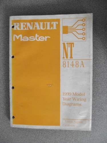 Renault Master Wiring Diagrams Manual 1999 Model Year 7711203078 ...