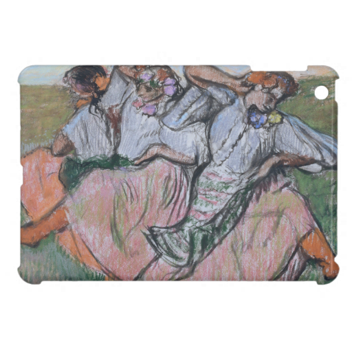 Three Russian Dancers by Edgar Degas iPad Mini Covers