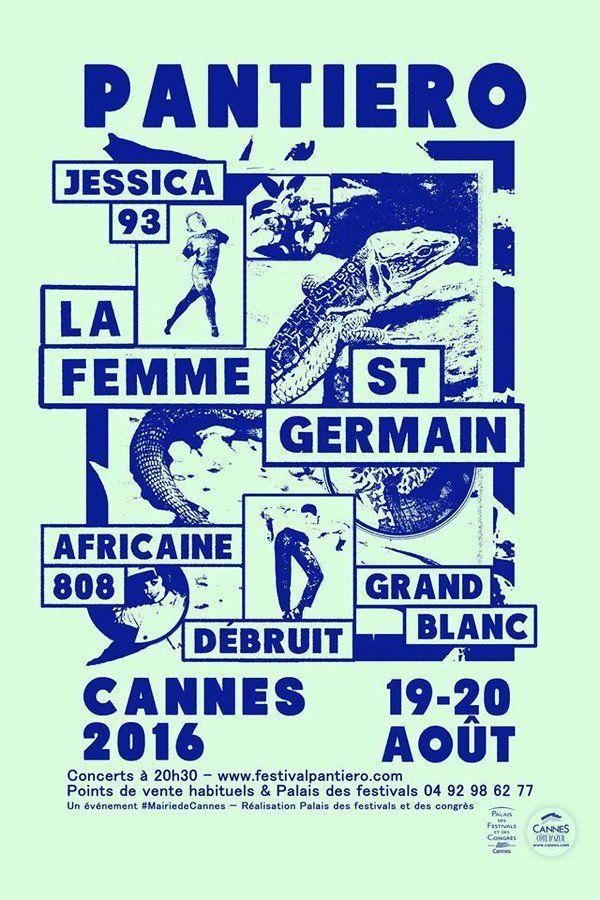 Pantiero 2016, Cannes #festival #affiche #affichefestival fr.pinterest.com/...