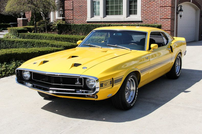 1969 Mustang Shelby Gt500 428 Cobra Jet Ford Mustang Shelby