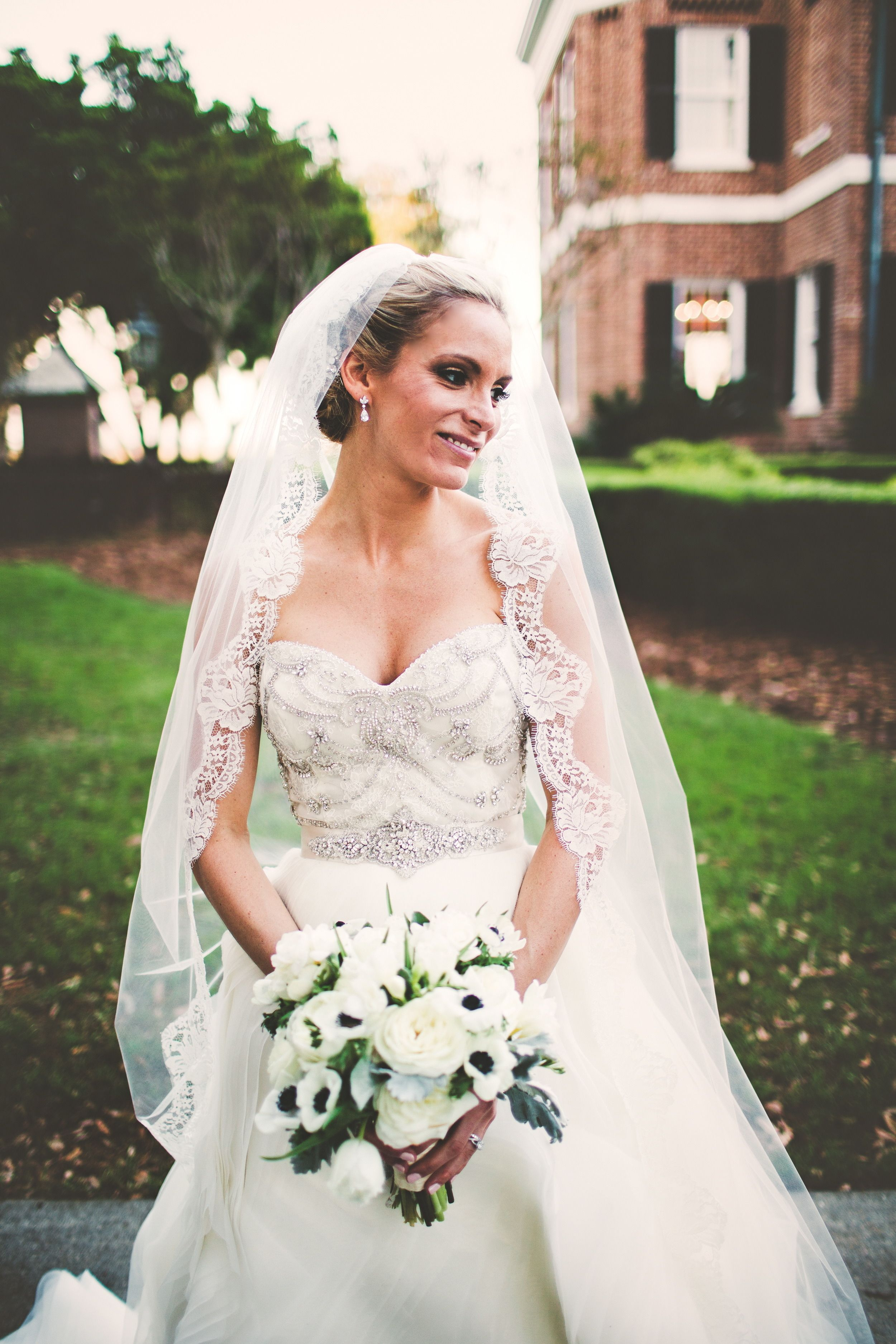 outdoor wedding at the ford plantation wedding gowns and