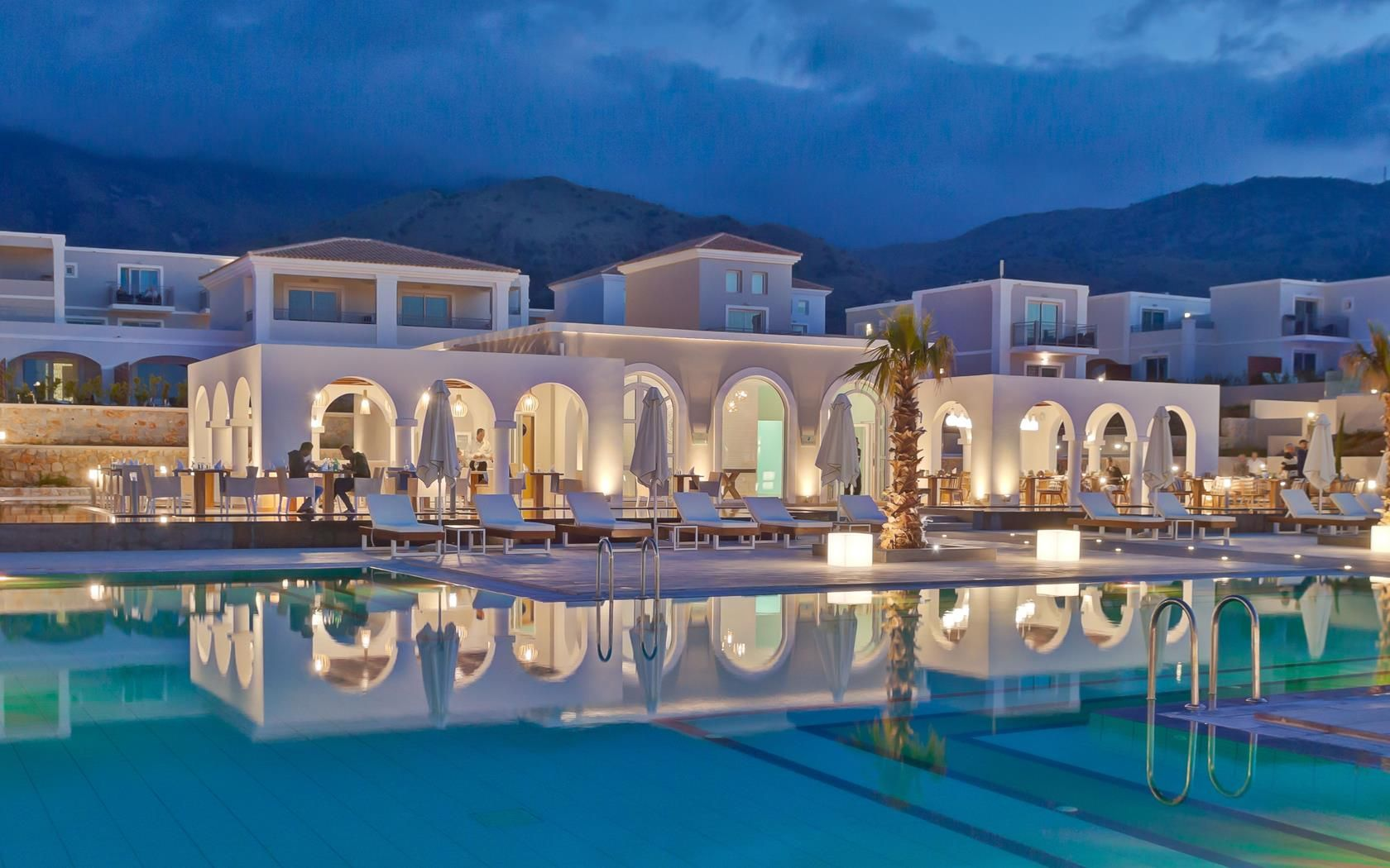 Anemos Luxury Grand Resort Is A Brand New 5 Star Suites And Spa Hotel Located Next To The Village Of Georgioupolis Chania At North Western Part