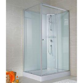 Cabine de douche ouverture droite 120 x 90 cm Ibiza | Salle de ...
